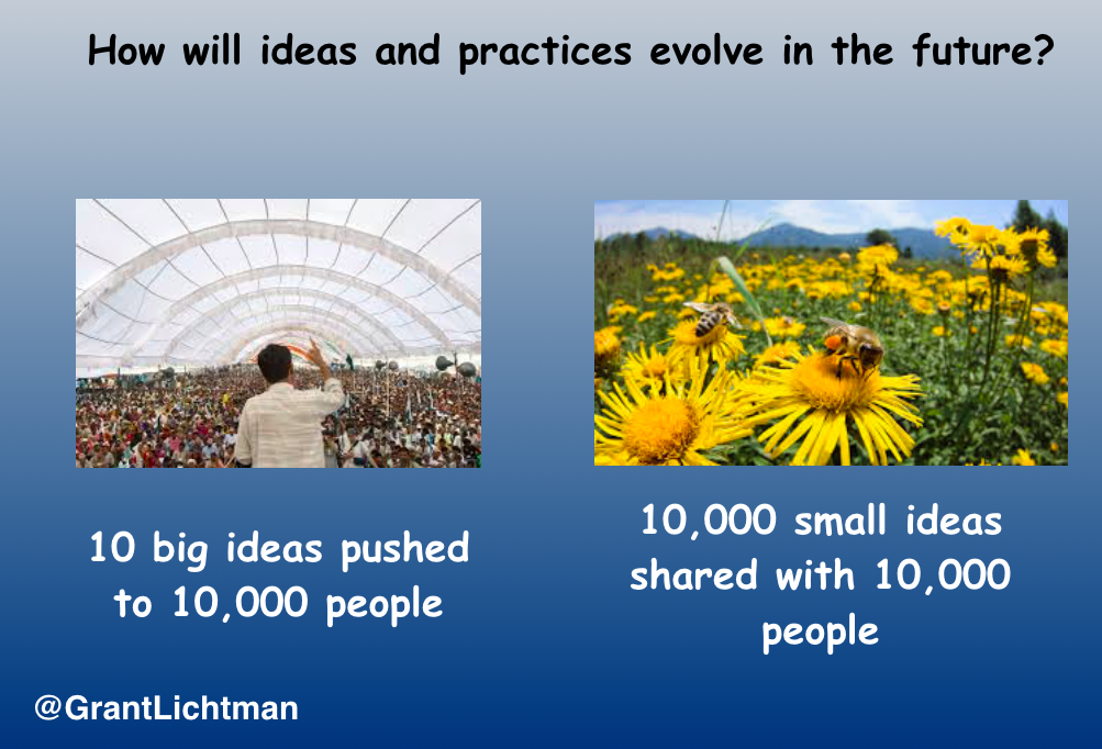 The Power of 10,000 Small Ideas